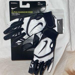 NEW!! {NIKE} Alpha Huarache Edge Batting Gloves